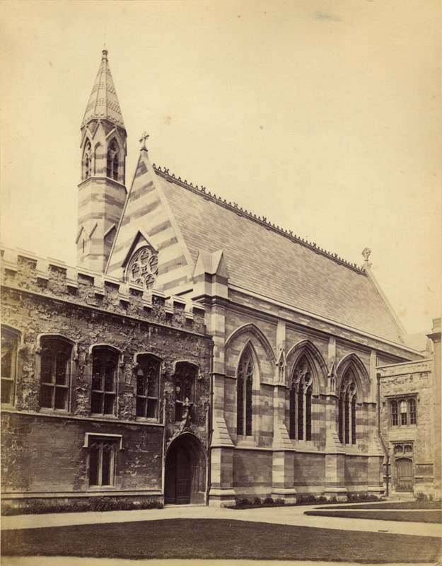 Balliol College Chapel and Library in Hardwicke's Time
