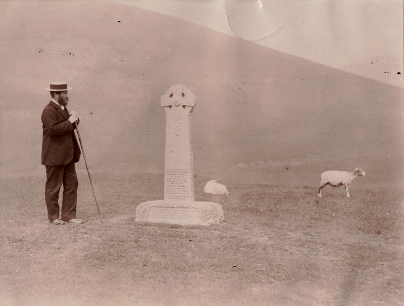 Skiddaw - Joseph Hawell Memorial Cross