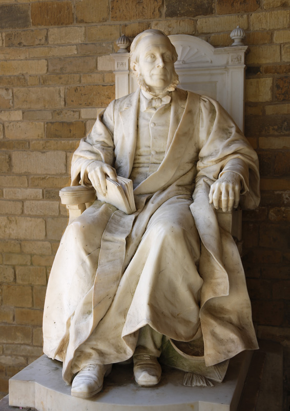 Statue of Edward Thring, Headmaster