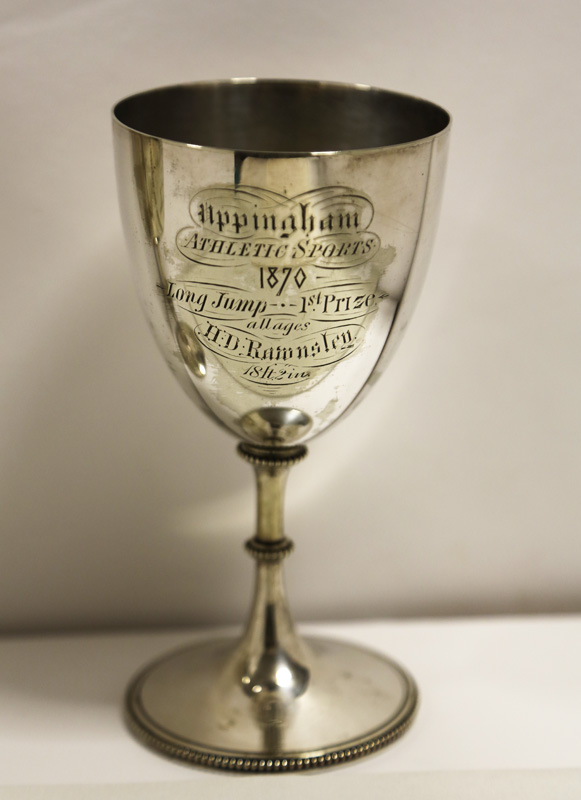 Long Jump Trophy (Uppingham School Archives)